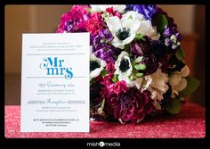 Many details will create your big day, from your invitation to your bouquet! Each element deserves a special spot within your photo collection.  http://mishamedia.com/  #wedding #bouquet #invitiation #chicagophotographer #chicagoweddingphotographer