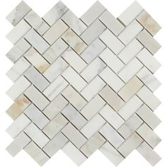 Calacatta Gold (Italian Calcutta) Marble 1 X 2 Herringbone Mosaic Tile, Polished: Perfect for use in any /b interior / exterior (residential or commercial) project; Stone Mosaic Tile, Marble Mosaic, Mosaic Tiles, Pool Tiles, Mosaic Wall, Calcutta Marble, Calacatta Gold Marble, Calacatta Oro, Marble Quartz