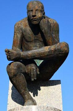 Francisco Leiro Contemporary Sculpture, Wood Sculpture, Buddha, Statue, Churchill, Figurative, Madrid, Inspire, Inspiration