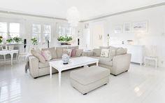 Lovely Deco: La douce maison blanche