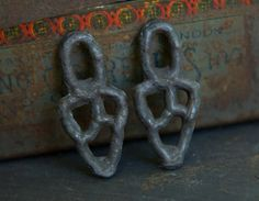 Primitive Charms Handmade Handcast Metalwork Jewelry by Inviciti