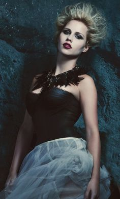 Claire Holt as Rebekah Mikaelson in The Vampire Diaries Season 4 photoshoot.  <3