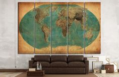 Old World Map №1458