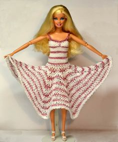 barbie clothing knitting patterns