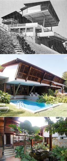 Midcentury Modern.La villa moderna en Caracas | Colección Patricia Phelps de Cisneros Quinta Cafe,Fruto Vivas 1960
