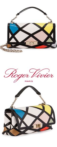 Roger Vivier   Prismick Mini Bauhaus Shoulder Bag, Multicolor   rogervivierbag f164e61bd5