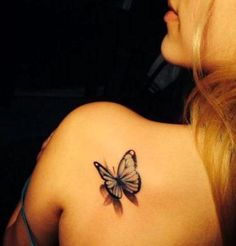 Tatouage - List of the most beautiful tattoo models Mini Tattoos, 3d Tattoos, Cute Tattoos, Beautiful Tattoos, Body Art Tattoos, Small Tattoos, Sleeve Tattoos, Tatoos, Butterfly Tattoo On Shoulder