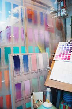 """Anthropologie, London, England, """"It's simply a matter of wherever my creative mood takes me"""", pinned by Ton van der Veer"""