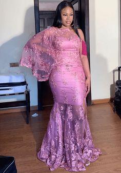 Nigerian Lace Styles Dress, Aso Ebi Lace Styles, African Lace Styles, African Dresses For Kids, Lace Dress Styles, African Lace Dresses, Latest African Fashion Dresses, Ankara Fashion, Ankara Styles