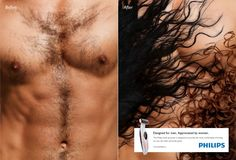 Philips Body Groomer: Before & After