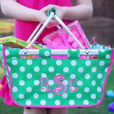 Personalized Easter Basket... Adore this