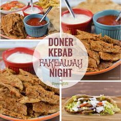 The ultimate sharing Doner Kebab Fakeaway Night - a very popular post pub experience all homemade with good ingredients for you to enjoy at home.