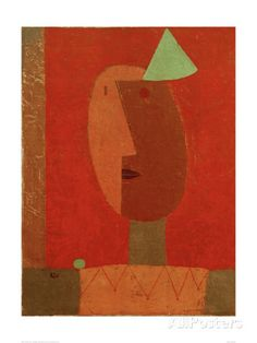 Clown Giclee Print by Paul Klee at AllPosters.com