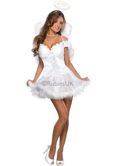 Results 61 - 75 of Find sexy Halloween costumes for women, men, plus-size, and couples right here! The perfect sexy costume is sure to make your Halloween or cosplay event a memorable one. Angel Halloween Costumes, Christmas Costumes, Girl Costumes, Costumes For Women, Adult Halloween, Spirit Halloween, Adult Costumes, Spooky Halloween, Angel Fancy Dress Costume