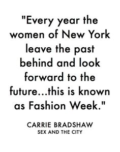 Click For Our Guide On All Things Fashion Week