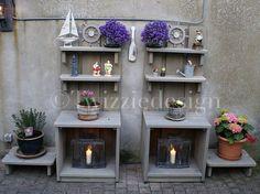 Twizziedesign tuinkast voor buiten in de tuin of op het terras