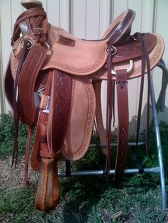 Wade Saddle Alligator Seat oh my I love this saddle.