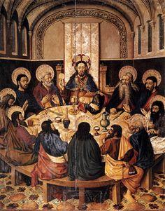 Jacomart Jaume Baço - Ultima cena - 1450 circa - Museo della cattedrale - Segorbe-Spagna