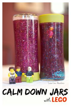 Lego Calm Down Jar from Lemon Lime Adventures