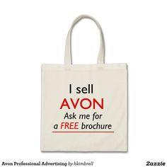 Avon Professional Advertising Tote Bag