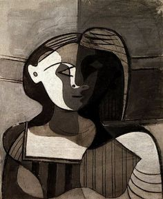 Pablo Picasso, Marie-Therese Walter (buste de jeune femme), 1927