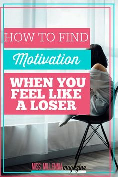 How to Find Motivation When You Feel Like a Loser - Side Hustle Ideas 2020 Finding Motivation, Life Motivation, How To Find Motivation, Affirmations, Time Management Tips, Best Blogs, Career Advice, How To Stay Motivated, Feel Like