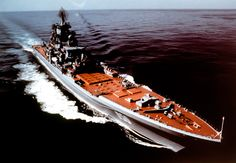 Russia is testing hypersonic missiles for the largest surface combatant ship in the world Alex Lockie MITSUO SHIBATA via Wikimedia CommonsA starboard bow view of the Soviet Kirov Class nuclear-powered guided missile cruiser. Soviet Navy, Soviet Union, Nuclear Submarine, Cruise Missile, Peter The Great, Nuclear Power, Navy Ships, Aircraft Carrier, Panzer