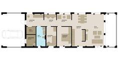 Moment egner seg godt for et par eller en liten familie. Vindfanget leder til en… Floor Plans, Vans, In This Moment, Van, Floor Plan Drawing, House Floor Plans