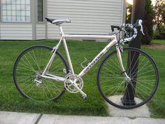 Hand polished Cannondale - whole bike.