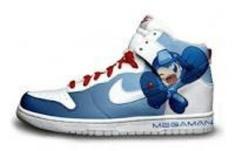 Mega Man Nike shoes