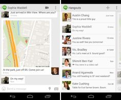 Google Hangouts 2.0 for Android is out with SMS and MMS support, animated GIFs, location and status sharing