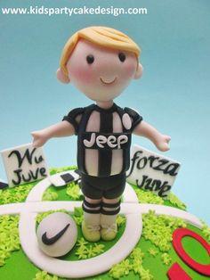 Juve bithday cake - Cake by Maria Teresa Perez