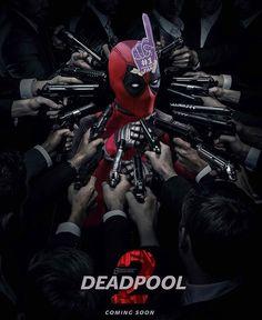 Australian artist Bosslogic posts parody posters for Deadpool 2 on twitter. 3 of 5