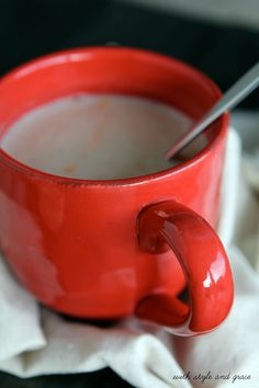 Warm Sleepy Time Almond Milk, I just did it with almond milk, nutmeg, cinnamon, and vanilla extract and it was AMAZING.