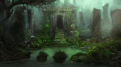 fantasy forest war - Google Search