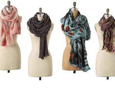 La versatilidad de la bufanda permite exhibir decenas de estilos con un mismo accesorio. Sólo debes aprender los giros y nudos y listo...una nueva apariencia (Por Hercilia Garnica)