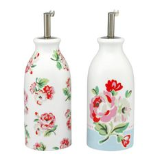 Ashdown Rose Oil & Vinegar Bottles | Cath Kidston |