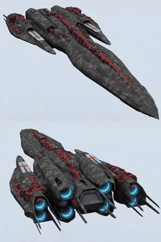 Battlecarrier Concept by DevilDalek.deviantart.com on @deviantART