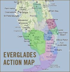 national parks in florida map