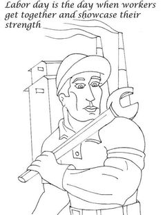 Labor Day Coloring Pages Coloring pages for kids