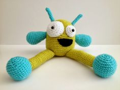 Crochet Monster free pattern