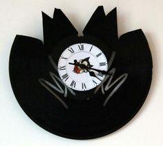 Vintage Horloge vinyle Batman Th/ème insolite de cadeau de No/ël