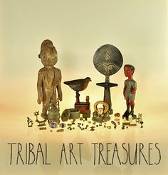 Enjoy our beautiful collection: www.TribalArtTreasures.com