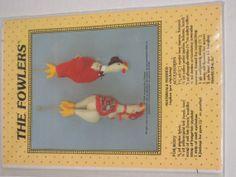 Kitchen Fun Chicken Doll Pattern 1984 chicks kitchen by melsumn1, $8.00