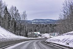 Entre Shawinigan et Shawinigan-Sud Paraiso Natural, Snow, Outdoor, City, Outdoors, Outdoor Games, Outdoor Living, Eyes