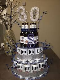 Image result for beer can cake samantha