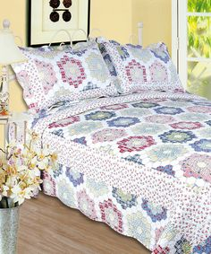 This Kaleidoscope Textile Plus Quilt Set by Textile Plus is perfect! #zulilyfinds