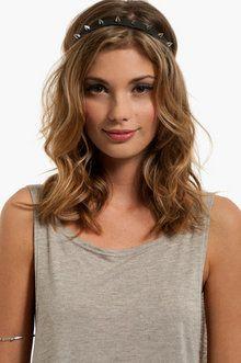 Pretty curls and headwrap