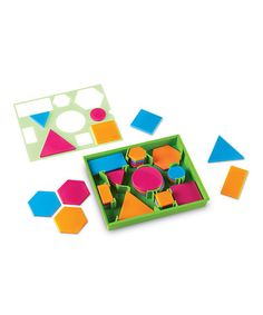 Another great find on #zulily! Brights! Shape Sorting Set #zulilyfinds
