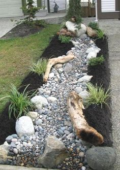 8 Marvelous Useful Ideas: Garden Landscaping Layout Stones garden landscaping diy drought tolerant.Succulent Garden Landscaping Flower easy garden landscaping tips.Outdoor Garden Landscaping How To Build. Landscaping With Rocks, Front Yard Landscaping, Backyard Landscaping, Landscaping Ideas, Backyard Ideas, Landscaping Software, Black Rock Landscaping, Landscaping Melbourne, Florida Landscaping
